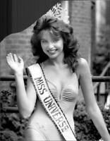 Miss Universe Barbara Palacios Teyde From Venezuela 1986 OLD PHOTO