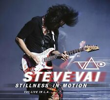 STEVE VAI STILLNESS IN MOTION: VAI LIVE IN L.A. 2-CD SET (Released April 6 2015)