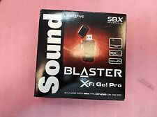 NEW Creative Soundblaster X-Fi Go! Pro USB Audio System with THX SB1290