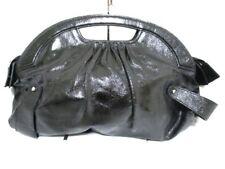 Auth JACQUES LE CORRE Black Patent Leather Handbag
