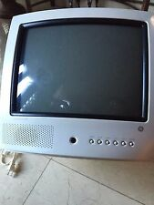 "GENERAL ELECTRIC COLOR TV 13"" WHITE - MODEL TX826TB"