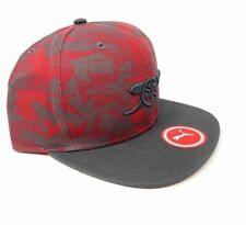 ce7296edc21 Arsenal Snapback Cap Puma Camo Red Fun Fan Gift New Official Licensed  Product