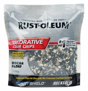 Rust-Oleum Mocha Blend Decorative Color Chips 1 lb