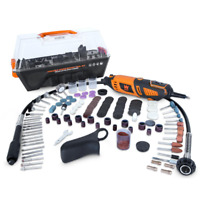WEN 1.3 Amp Variable Speed Steady-Grip Rotary Tool with 190-Piece Accessory Kit
