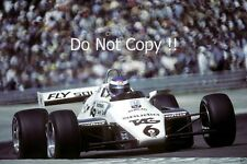 Keke Rosberg Williams FW08 Winner Swiss Grand Prix 1982 Photograph 3