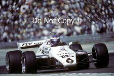 Keke Rosberg Williams FW08 Winner Swiss Grand Prix 1982 Photograph 3