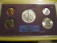 1947 P US Mint Set Brilliant Uncirculated!