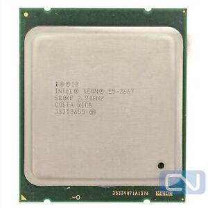 Intel Xeon E5-2667 2.9GHz (3.5GHz) 15M 8GT/s SR0KP LGA2011 B Grade Server CPU