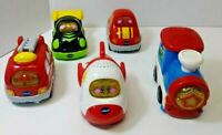 Lot of 5 VTech Go! Go! Smart Wheels Cars