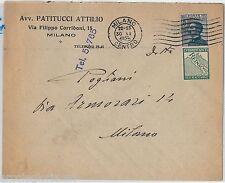 64189 - ITALIA REGNO - STORIA POSTALE : Pubblicitario REINACH su  BUSTA 1925