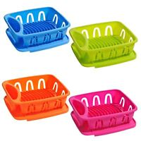 Dish Drainer | Ample Storage | Removable Tray | Lightweight Plastic