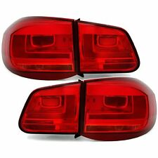 FEUX ARRIERE LED VW TIGUAN 5N 09/2007-05/2011 ROUGE LOOK FACELIFT