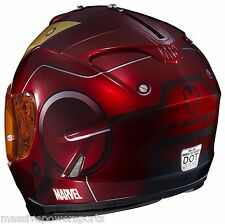 HJC IS-17 Marvel Iron Man Motorcycle Helmet XL XLG Integrated SunShield Ironman