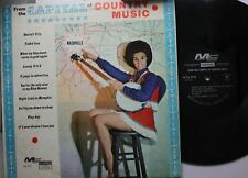 Country Lp Various Artists From The Capital Of Country Music On Modern Sound