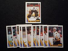 1987-88 OPC O PEE CHEE BOSTON BRUINS TEAM SET BILLY ROOKIE CARD NM/MT