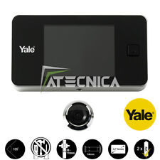 """Spyhole electronic with display digital LCD 3,2"""" colour YALE 45 universal"""