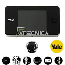 """Spioncino elettronico con display digitale LCD 3,2"""" a colori YALE 45 universale"""