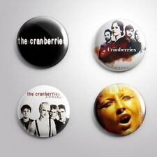 4 THE CRANBERRIES - Pinbacks Badge Button Pin 25mm 1''