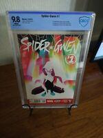 Spider-Gwen 1 CBCS 9.8 1st Solo Spider-Woman Gwen Stacy New Spider-Gwen movie!