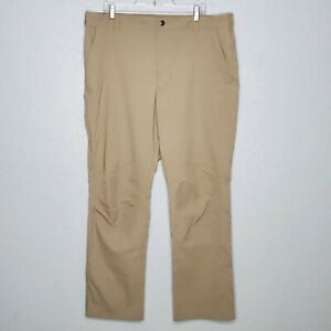 Columbia Omni Shield Men's Size 40x32 Khaki Beige Outdoor Hiking Fishing Pants