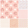 Baby Hedgehog - 100% Cotton Fabric Childrens Nursery Dressmaking OEKO-TEX