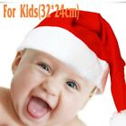1Pc Santa Red Plush Christmas Party Hat Holiday Costume Caps Adult Headgear DIT