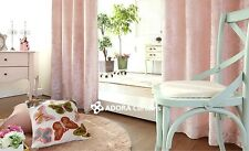 Catherine Velvet Curtain:TOP QUALITY BLOCKOUT (LIGHT PINK)130(W)x230(L)