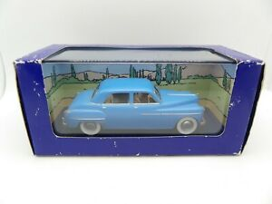 Dodge Coronet 1949 Goal Lune Tintin 1/43 Atlas Miniature IN Box