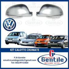 VW Golf 5 from 2003 Caps Chrome for Mirrors Rear View Right+Left