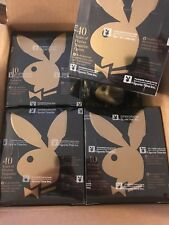 1995 Playboy Chromium Cover Edition 1 Factory Sealed X4 BOX LOT!  DONALD TRUMP