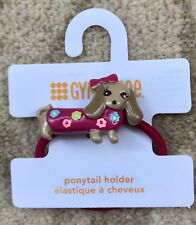 Gymboree Super Cute Pink Dog Hair Bobble / Tie - Brand New with Tag