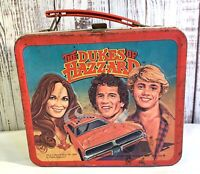 Collectors Vintage 1980 Dukes of Hazzard Metal Lunch Box--No Thermos-