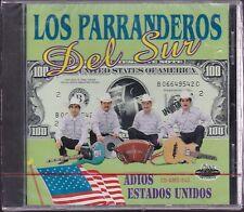 Los Parranderos del Sur Adios estados Unidos CD New Sealed