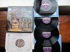 "Mozart Don Giovanni 4*12"" LP Box Set ECO Bonynge Decca SET 412-5 WB Ed3 UK 1970"