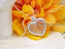 Authentic PANDORA Silver Floating Heart Locket Petit Necklace Pendant 590544