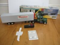 Galoob Movin On RC Tractor Trailer Truck Made In Japan 1970's EUC