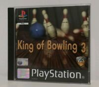 King of Bowling 3 Video Game for Sony PlayStation PS1 Mint Condition PAL