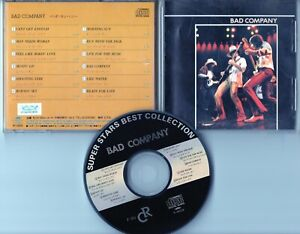 Bad Company CD MADE IN JAPAN Super Stars Best Collection # F-001 Classic Rock