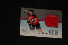 ZACH PARISE 2005-06 UD ICE AUTHENTIC CERTIFIED GAME USED JERSEY CARD