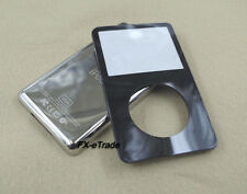 Black Front Faceplate Metal Back Housing Case Cover Tool for iPod 5th Video 30GB