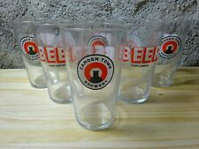 6 VERRES CAMDEN TOWN BREWERY 50CL PINTES ANGLAISES 6 SOUS BOCKS OFFERTS