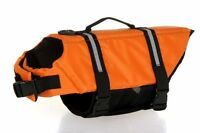 Tactical Military Dog Safety Vest Swimming Preserver Pup, Large Pet Life Jacket