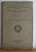 Catalogue of Human Crania: Non-Eskimo Poeple of Alaska Siberia 1940 Phrenology