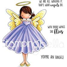 Stamping Bella 'Tiny Townie' Cling Stamp Set - ANNIE THE ANGEL