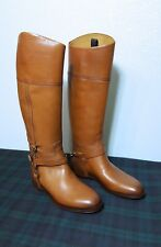Ralph Lauren Collection Sandra Equestrian Leather Tall Riding Womens Boots: 6.5B