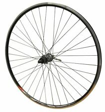 700c ROAD Bike Racer Wheel REAR Shimano Tiagra Hub Mach CFX Black rim & Spokes