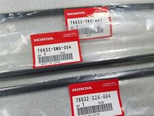 NEW GENUINE HONDA FIT WIPER REFILL INSERT SET 2009 TO 2012 FOR FACTORY BLADES