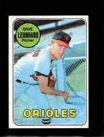 1969 TOPPS #228 DAVE LEONHARD EX ORIOLES  *XR17928