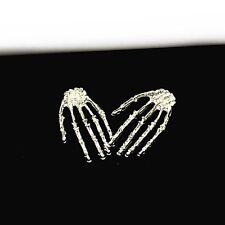 Boucles d'oreilles Pendantes Harajuku style caractère squelette la main chic