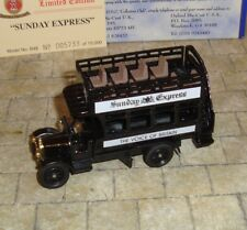 OXFORD DIECAST - THORNYCROFT BUS - SUNDAY EXPRESS  - LIMITED EDITION - BOXED